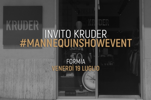 Invito KRUDER #MannequinShowEvent